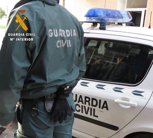 La Guardia Civil de Albacete detiene a una persona por robos con fuerza en viviendas y coches