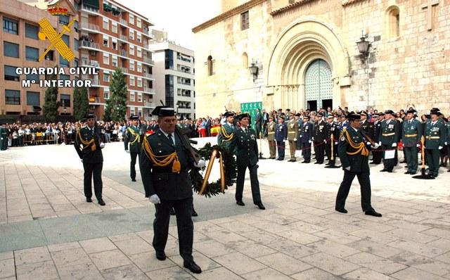 La Guardia Civil de Albacete preparar diversos actos institucionales con motivo de su patrona, la Virgen del Pilar