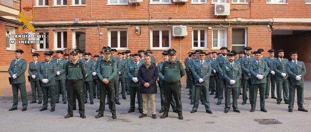 La Guardia Civil de Albacete cuenta con 60 efectivos más para la provincia