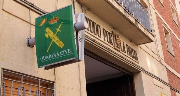 La Guardia Civil de Albacete investiga el intento de robo con explosivos en una sucursal bancaria de El Ballestero