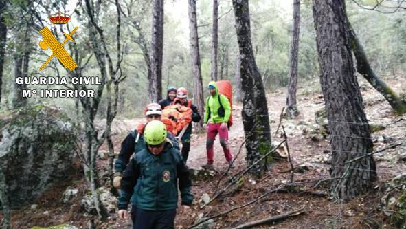 La Guardia Civil tuvo que auxiliar a 35 participantes de la prueba de Montaña 'Desafío Calar del Río Mundo'