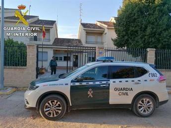 Detenido un hombre en busca y captura tras dos robos en Puebla y Quintanar (Toledo) y por agredir a un agente