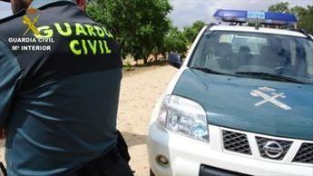 Dos detenidos por sustraer material valorado en 10.000 euros a un trabajador en Navalcán (Toledo)