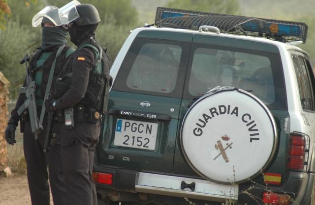 Seis personas detenidas por la Guardia Civil por robos en comercios de Albacete, Cuenca y Ciudad Real