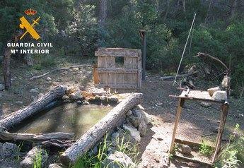Denunciado un vecino de Isso (Hellín) por hacer fotos de fauna silvestre en Liétor (Albacete)