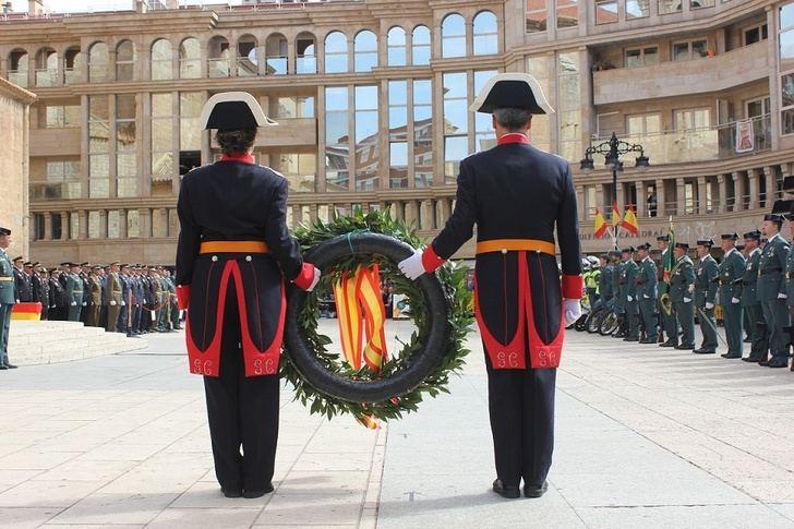 Imagen de archivo de la festividad de la Patrona de la Guardia Civil el año pasado.