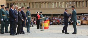 Albacete celebró con la Guardia Civil su Festividad, con los representantes de Ayuntamiento, Diputación y Junta