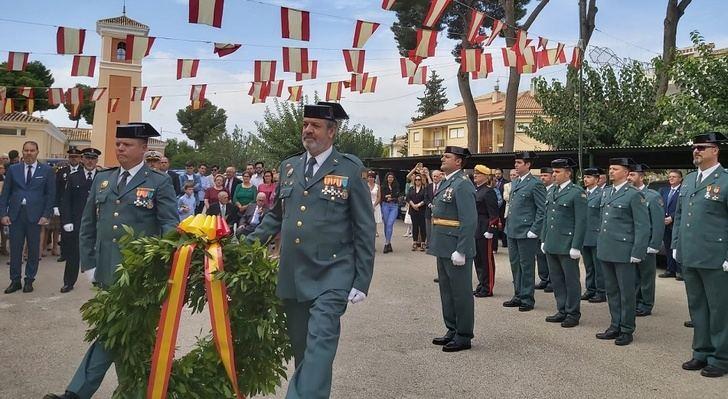 La Guardia Civil de Hellín celebró también la festividad de su Patrona, la Virgen del Pilar