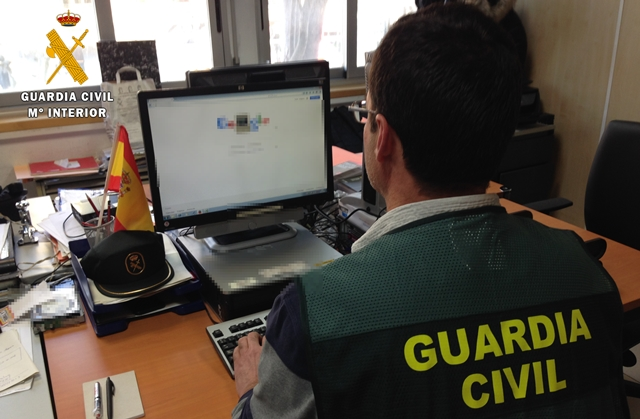 Un detenido por 69 estafas por internet, con afectados en Albacete, Toledo y Guadalajara