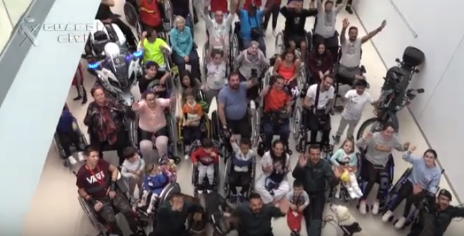La Guardia Civil dedica su calendario solidario 2019 al Hospital Parapléjicos de Toledo