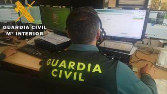 La Guardia Civil de Mora (Toledo) detiene a una mujer de 69 años por hacerles 68 llamadas con información falsa