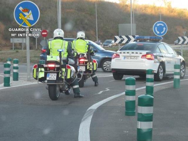 Dos fallecidos y once heridos en los siete accidentes registrados en carreteras de C-LM el fin de semana