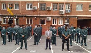 La Guardia Civil de Albacete recibe a los 44 efectivos destinados hace poco a la provincia