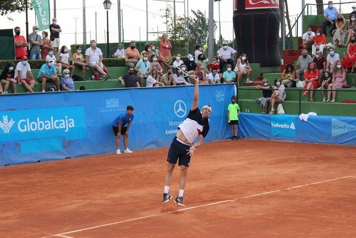 Robredo y Guillermo García López, en la final del Ciudad de Albacete de tenis