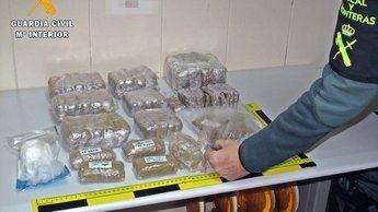 Detenidos dos vecinos de Toledo con 4,5 kilos de hachís y 100 gramos de cocaína
