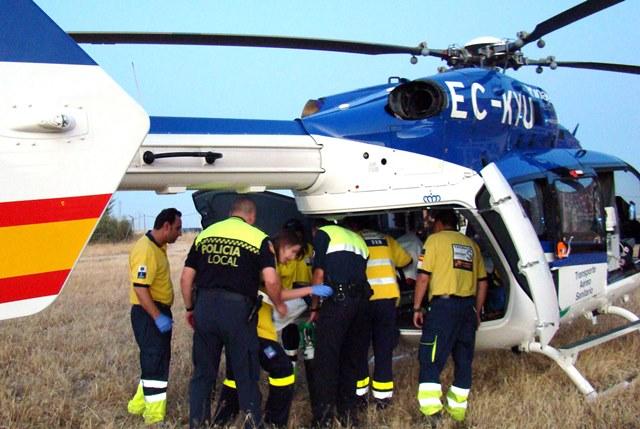 Muere un motorista de 65 años al colisionar con un coche en Ayna (Albacete)