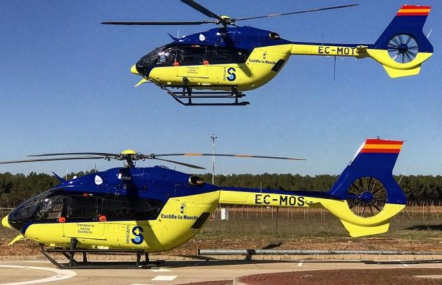 El transporte aéreo del SESCAM cierra los primeros siete meses del año con 1.200 actuaciones