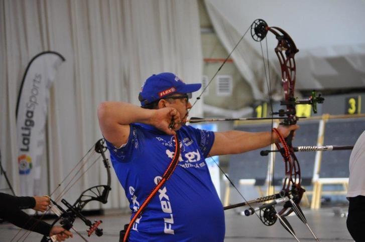 Heliodoro Rodríguez se proclama campeón de España equipos mixtos de tiro con arco