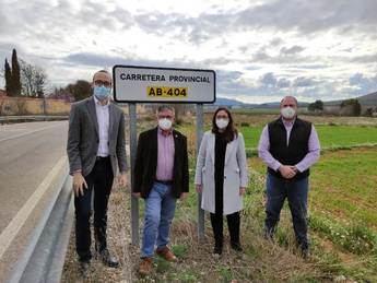 El Ayuntamiento de Hellín mejora la seguridad vial del tramo de la AB-404 conocido como 'Puerto del Encerrado'
