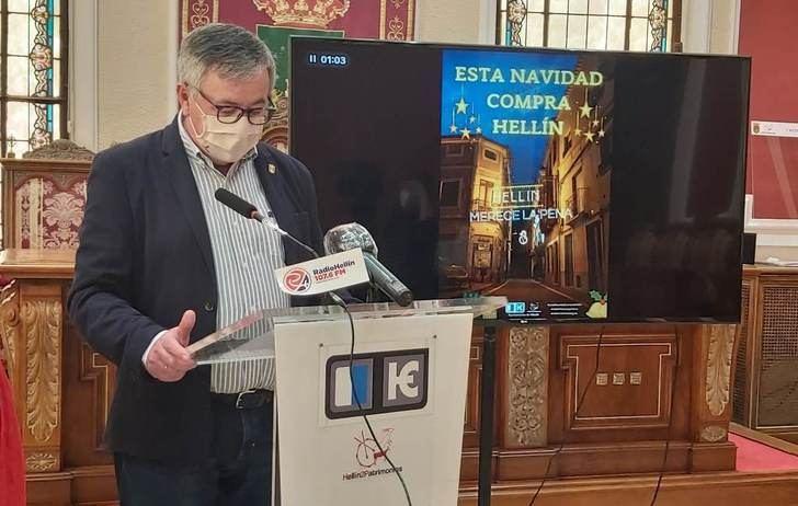 El Ayuntamiento de Hellín apuesta por su comercio en Navidad, con una potente campaña de comunicación
