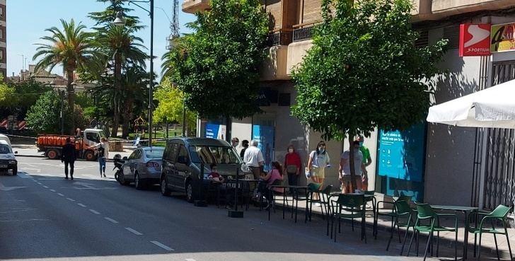 Imagen de una calle de Hellín