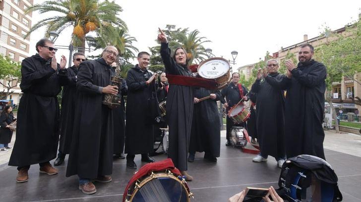 Hellín reconoce a Encarnita Onrubia como Tamborilera del año 2019