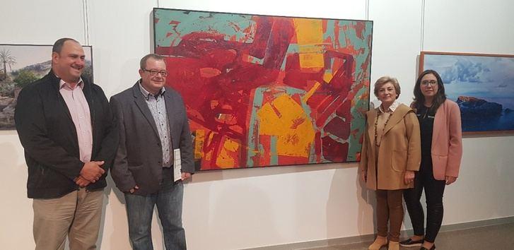 Francisco Mora obtiene el primer premio en el III Certamen Nacional de Pintura 'Ciudad de Hellín'
