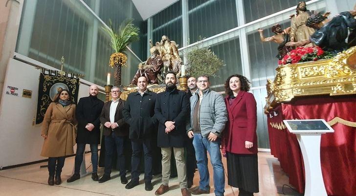 Exposición en Hellín del concurso de carteles de Semana Santa en el 75 aniversario de 'El Paso Gordo'