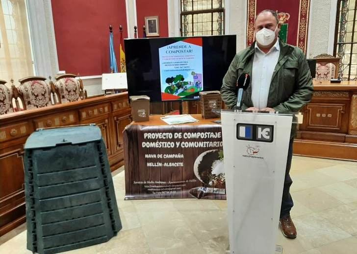 Nava de Campaña (Hellín), acoge un proyecto de compostaje doméstico y comunitario