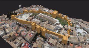 Hellín presenta una recreación de su castillo y adelanta que hará trabajos de estudio y excavación