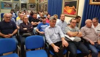 Primera asamblea de la Asociación de Cofradías y Hermandades de Hellín, tras la Semana Santa