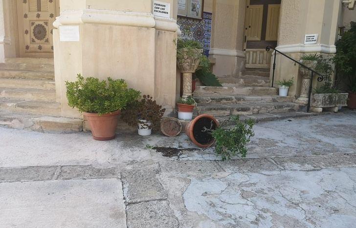 La Policía identifica a los tres menores que causaron destrozos en el santuario de la Virgen del Rosario de Hellín (Albacete)
