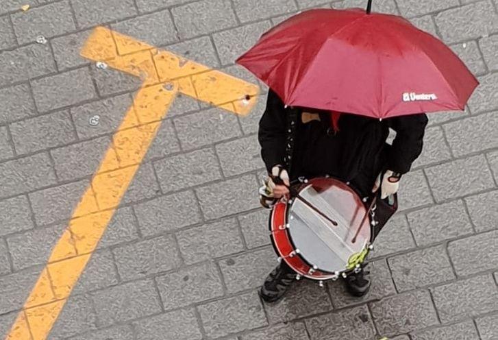 Suspendida en Hellín la Procesión del Calvario de Viernes Santo por la lluvia