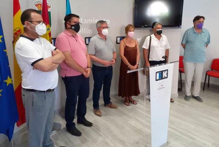 El alcalde de Hellín y los sindicatos, muestran su desacuerdo con el corte de la línea de tren hacia Murcia