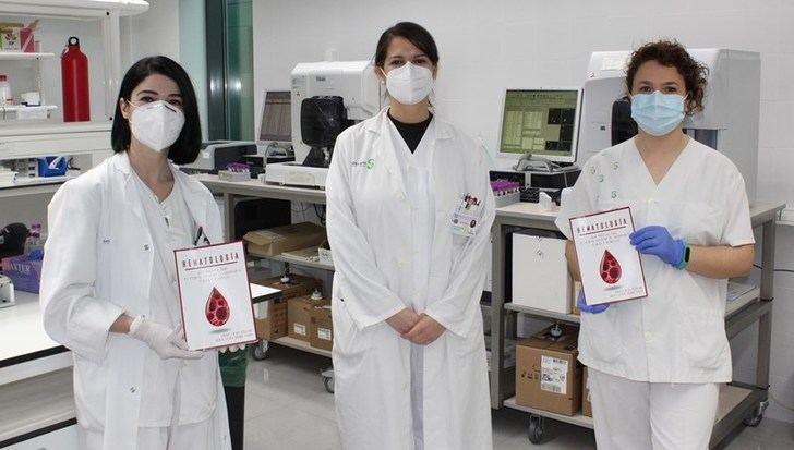 Técnicos de laboratorio del Hospital de Almansa elaboran una guía práctica sobre la actividad en el servicio de hematología
