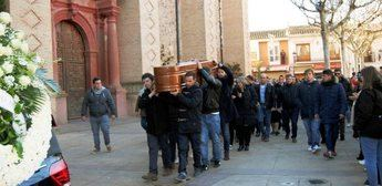 Imágenes de archivo del entierro del joven asesinado en los carnavales de Herencia.