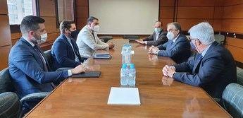 La Junta de Castilla-La Mancha presenta el proyecto 'ALMA'' al Colegio de Economistas de Albacete