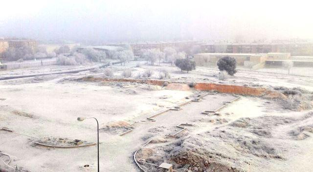 El hielo en las calles de Castilla-La Mancha, como el 8 de enero del año pasado, se repetirán en gran parte de la región el jueves.