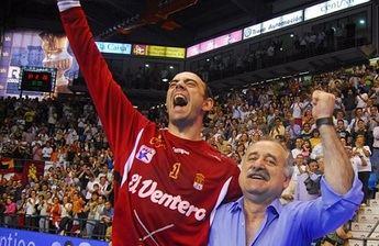 Hombrados, que cumplió su partido 700 en la Liga Asobal: 'El balonmano es imborrable en nuestra casa'