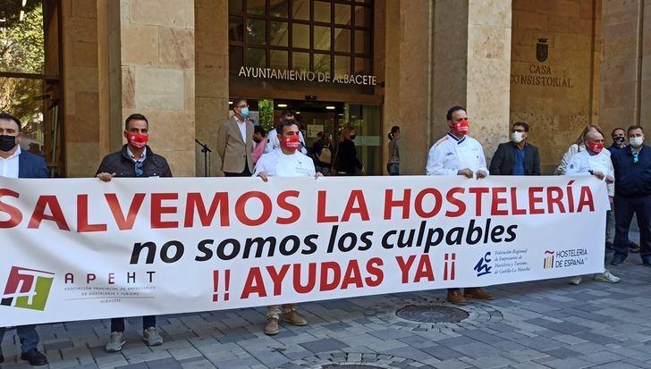 La hostelería de Albacete no entiende las restricciones que vienen cuando solo un 3,5% de los contagios son en bares