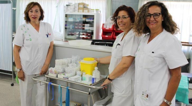 2.000 pacientes han sido atendidos en el Hospital de Albacete por la unidad de enfermería de cuidados avanzados
