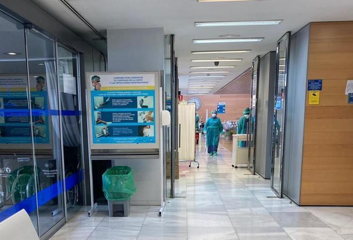 La Junta explica la razón por la que se ocupan gimnasios, sala de espera y pasillos en hospitales de Albacete, por el coronavirus