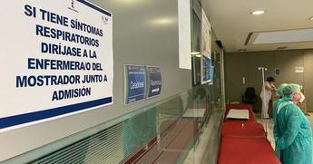 Los hospitales de Albacete registran un aumento de ingresos por patología respiratoria