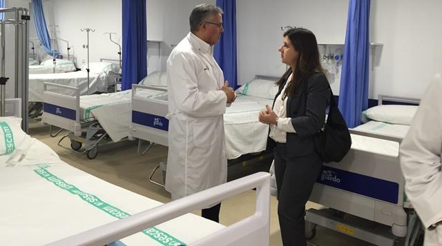 La Junta asegura que los hospitales de Castilla-La Mancha han reducido un 64% la demora de los ingresos desde urgencias