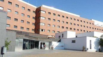 Hospital de Ciudad Real. Esta provincia es la que más casos tiene en Castilla-La Mancha.