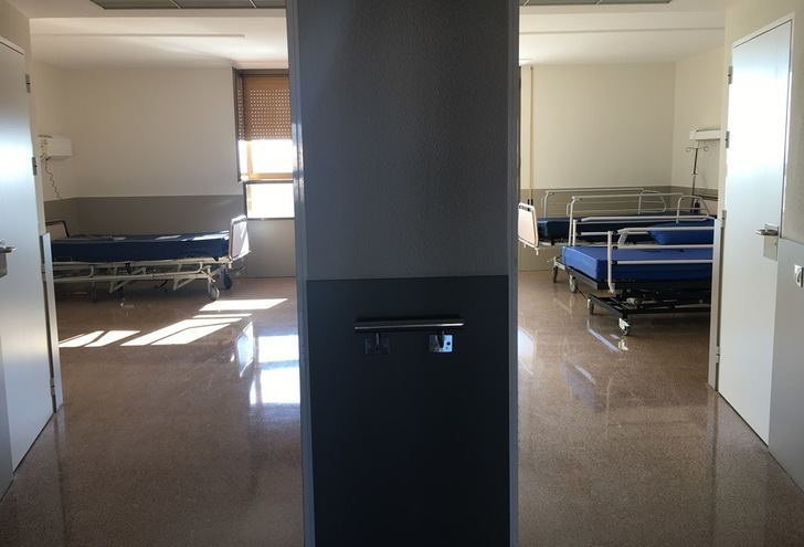Ya está operativa la tercera planta del Hospital de Hellín y se acerca el final de la reforma del edificio