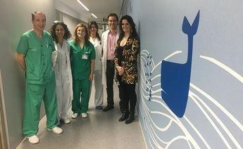 El hospital de Hellín cambia la decoración de pediatría para ayudar a mejorar la estancia a los niños y sus familias