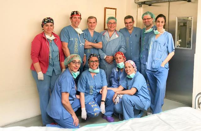 El Hospital Toledo es pionero en una técnica para extraer dispositivos intracardiacos