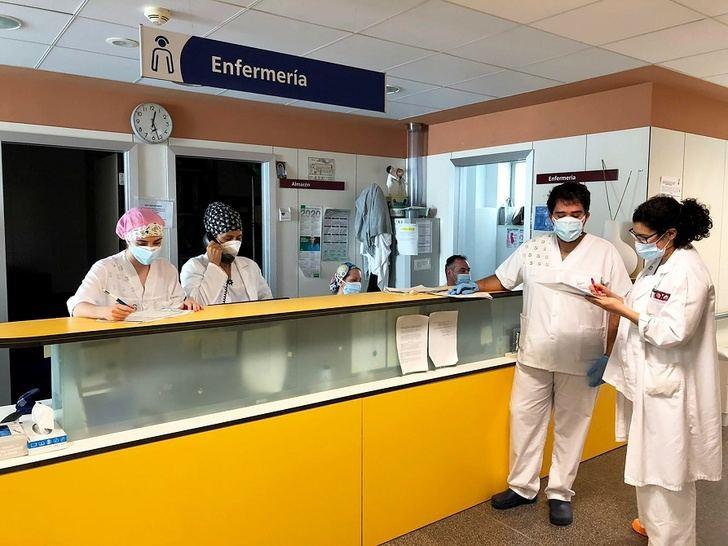 El Hospital General de Villarrobledo va recuperando poco a poco su actividad asistencial
