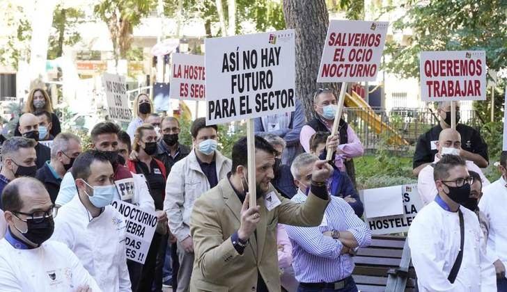 Los hosteleros de Albacete quieren trabajar y salvar sus negocios